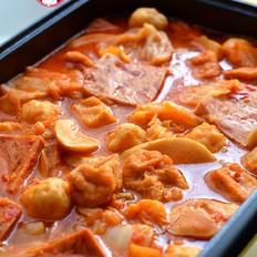 辣白菜火锅
