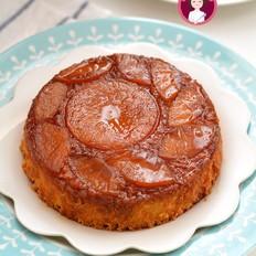 焦糖苹果反转蛋糕