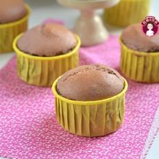 无油紫薯戚风杯子蛋糕