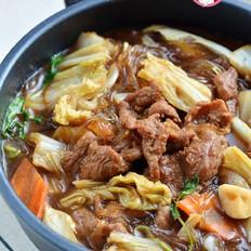 牛肉白菜粉条香锅