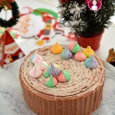芋泥树桩蛋糕