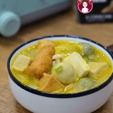 金汤白菜豆腐鱼丸
