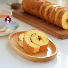 肉松黄芥末酱蛋糕卷