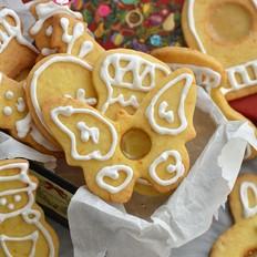 橙香焦糖芯糖霜饼干