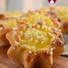 卡仕达酥粒面包