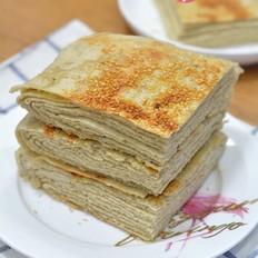 花生酱青稞千层饼
