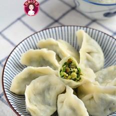 鸡蛋虾皮韭菜饺子
