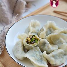 鸡蛋香菇油菜饺子