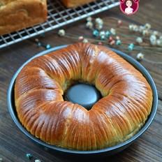 黑全麦老面毛线球凤梨面包