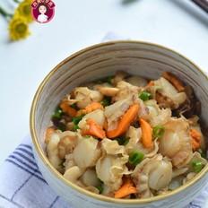 开胃小菜之凉拌扇贝肉