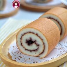 藍莓醬天使蛋糕卷的做法