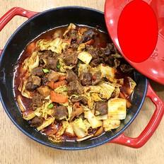麻辣牛肉焖锅