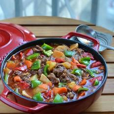 番茄浓汤牛肉焖锅