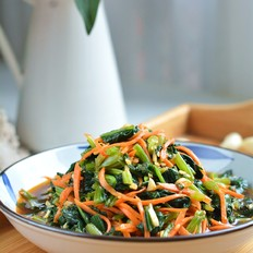 酸辣开胃的凉拌菠菜的做法
