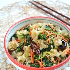 清肠润燥的凉拌酸辣银耳菠菜的做法