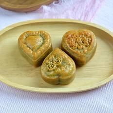 绿豆沙奶黄月饼的做法