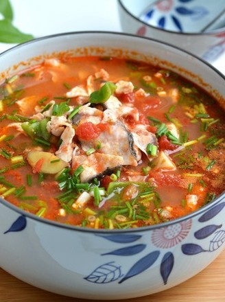 开胃酸汤鱼的做法