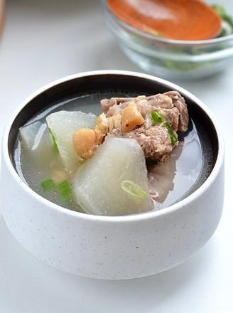 腔骨干贝萝卜汤