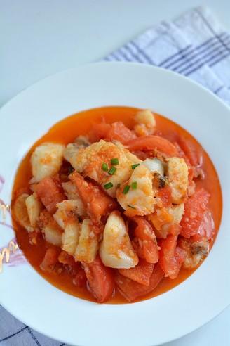 鲜嫩开胃的番茄比目鱼