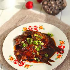 家常版红烧平鱼的做法