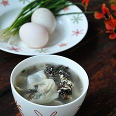 紫菜鸡蛋馄饨