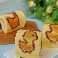 小鸭蛋糕卷