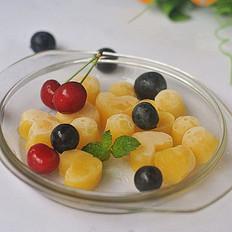 香橙果冻的做法