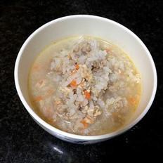 胡萝卜鸡肉粥
