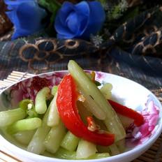 辣炒白菜苔