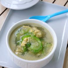 蛋香丝瓜汤