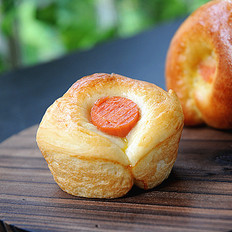 奶酪火腿面包卷
