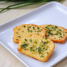 葱香烤面包片