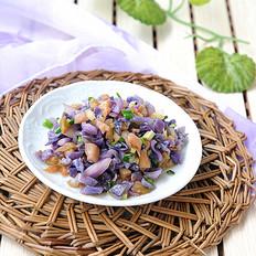 葱香紫甘蓝榨菜酱