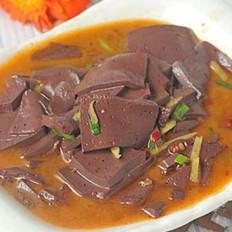 葱花猪血汤