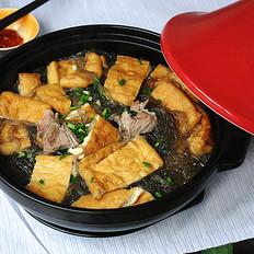 红薯粉豆腐煲