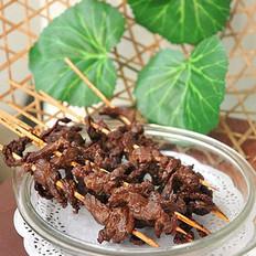 蚝油牛肉串