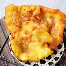 香甜酥脆,街头热门小吃——油饼