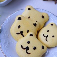健康辅食——小熊蛋黄饼干