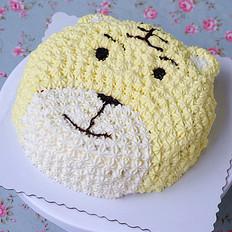 萌哒哒的老虎蛋糕