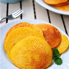 粗粮细吃——香甜玉米饼