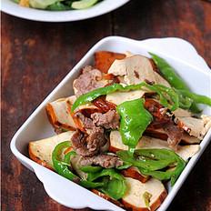 熏豆干炒肉