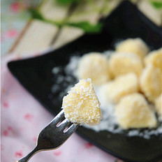 豆浆椰汁糕