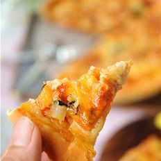 鸡丁蔬菜披萨