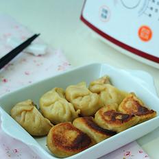 豆浆牛肉煎饺