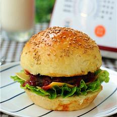 淡奶油豆浆牛肉汉堡
