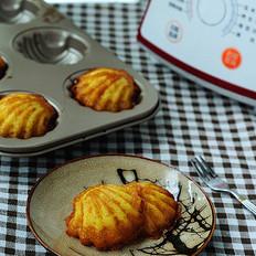 豆浆贝壳蛋糕