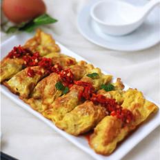 记忆中最美味的年菜——葱香鸡蛋饺