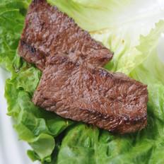 香煎牛肉片