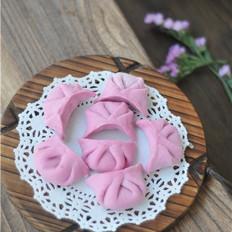 火龙果猪肉莲藕饺子