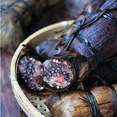 笋壳腊肉棕